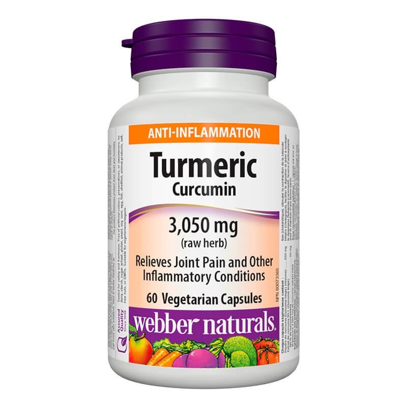 Tурмерик куркумин 600 mg x 60 V капсули Webber - 1