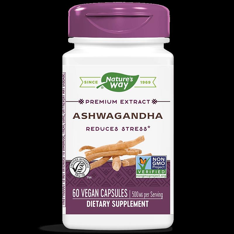 Ashwagandha/ Ашваганда 500 mg х 60 капсули
