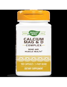 Калций & Магнезий & Витамин D 250 mg х 100 капс. Nature's Way - 1