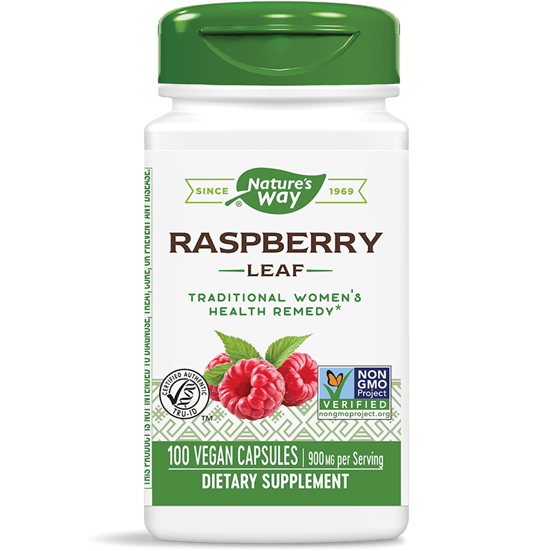 Raspberry Leaf/ Малина (лист) 450 mg x 100 капсули