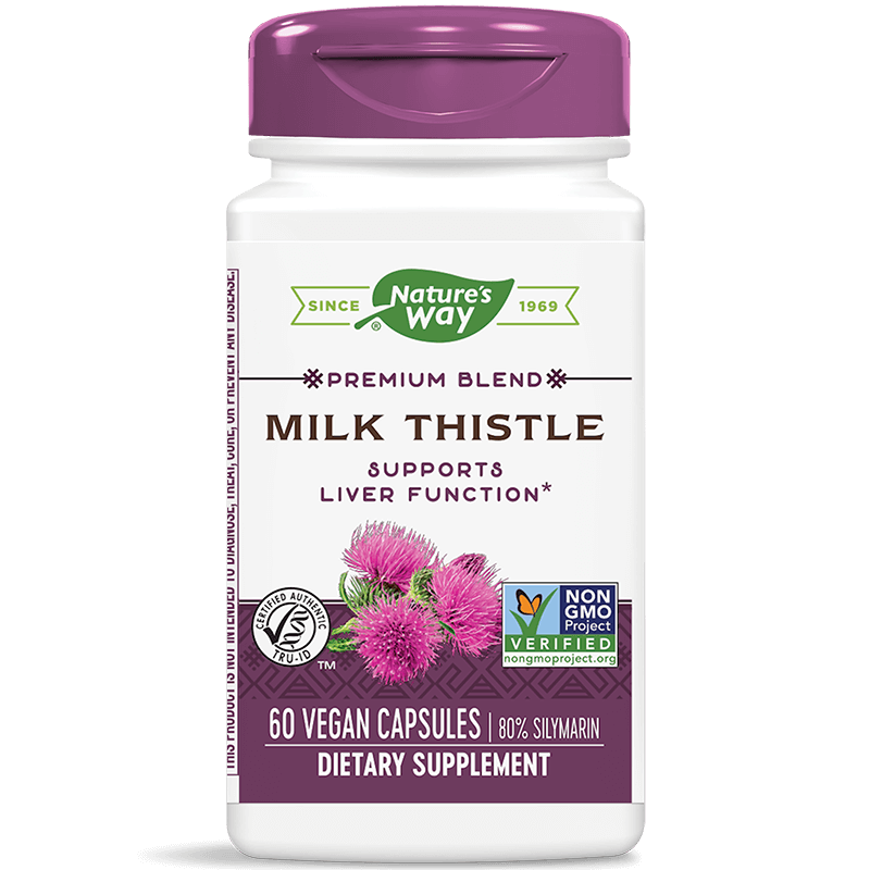 Milk Thistle / Бял трън, 60 капсули
