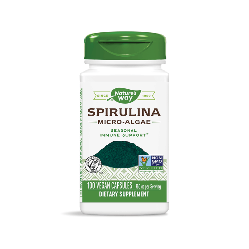 Spirulina Micro-Algae/ Спирулина (микро-водорасли) 380 mg х 100 капсули