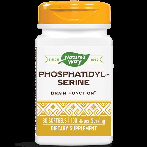 Фосфатидил-серин 500 mg Nature's Way - 1