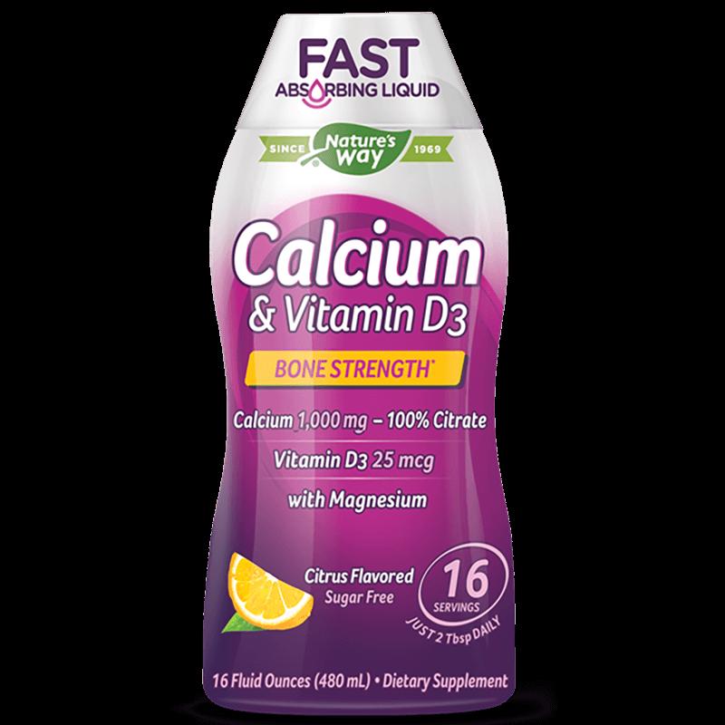Calcium & Vitamin D3/ Калций и Витамин D3 х 480 ml