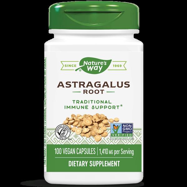 Астрагал (корен) 470 mg x 100 капс. Nature's Way - 1