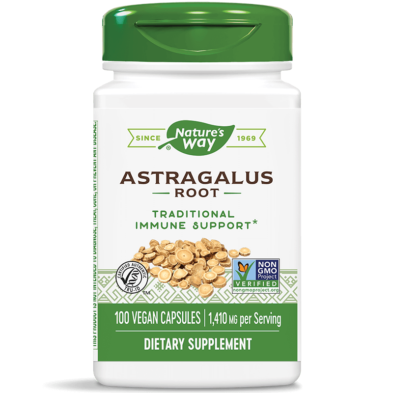 Astragalus Root/ Астрагал (корен) 470 mg x 100 капсули