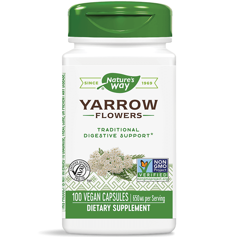 Yarrow Flowers/ Бял равнец (цвят) 325 mg х 100 капсули