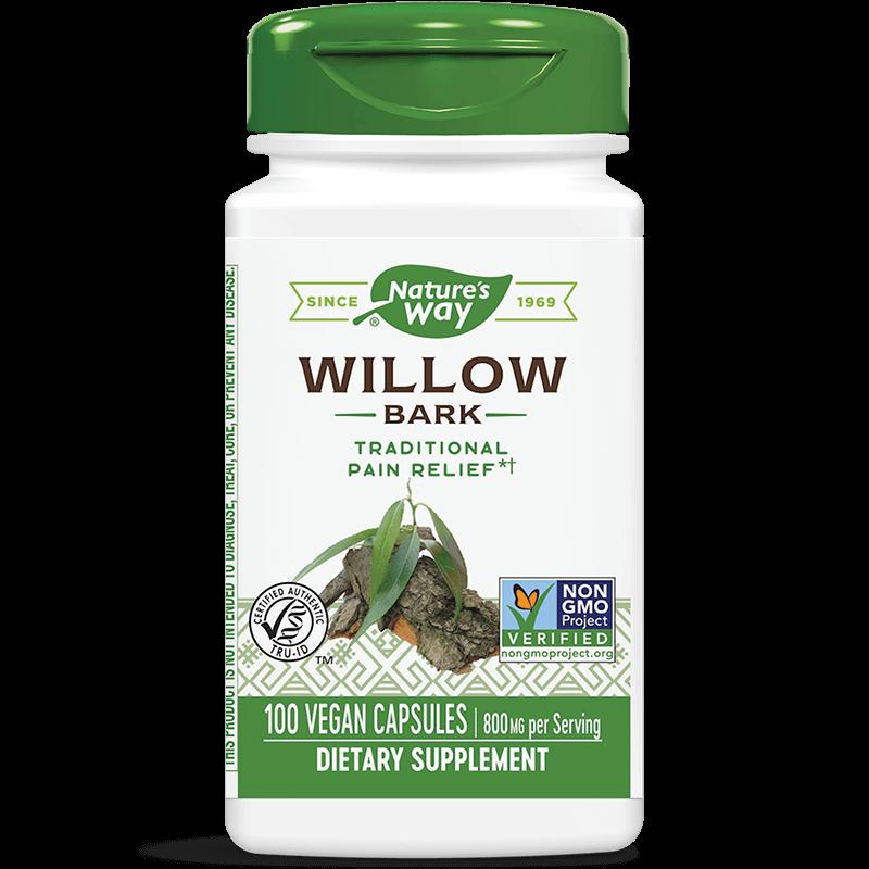 Willow Bark/ Бяла върба (кора) 400 mg x 100 капсули