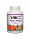 Витамин С 500 mg (горски плодове) х 90 дъвчащи таблетки Natural Factors - 1