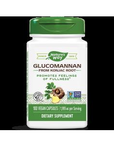 Глюкоманан / Картофена палма (корен) 665 mg Nature's Way - 1