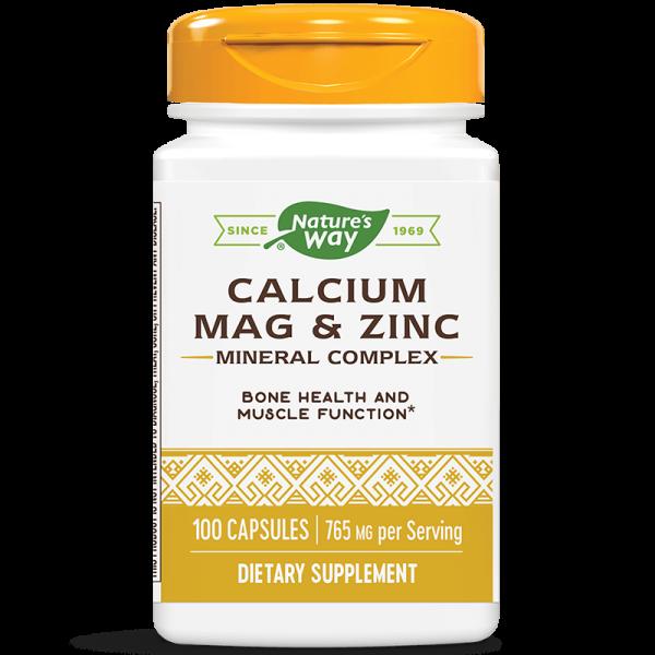 Калций & Магнезий & Цинк 255 mg Nature's Way - 1