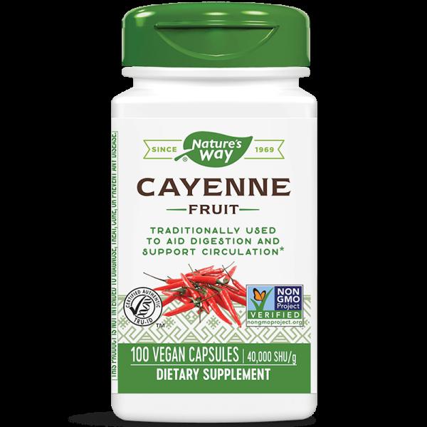 Лют червен пипер (плод) 450 mg Nature's Way - 1