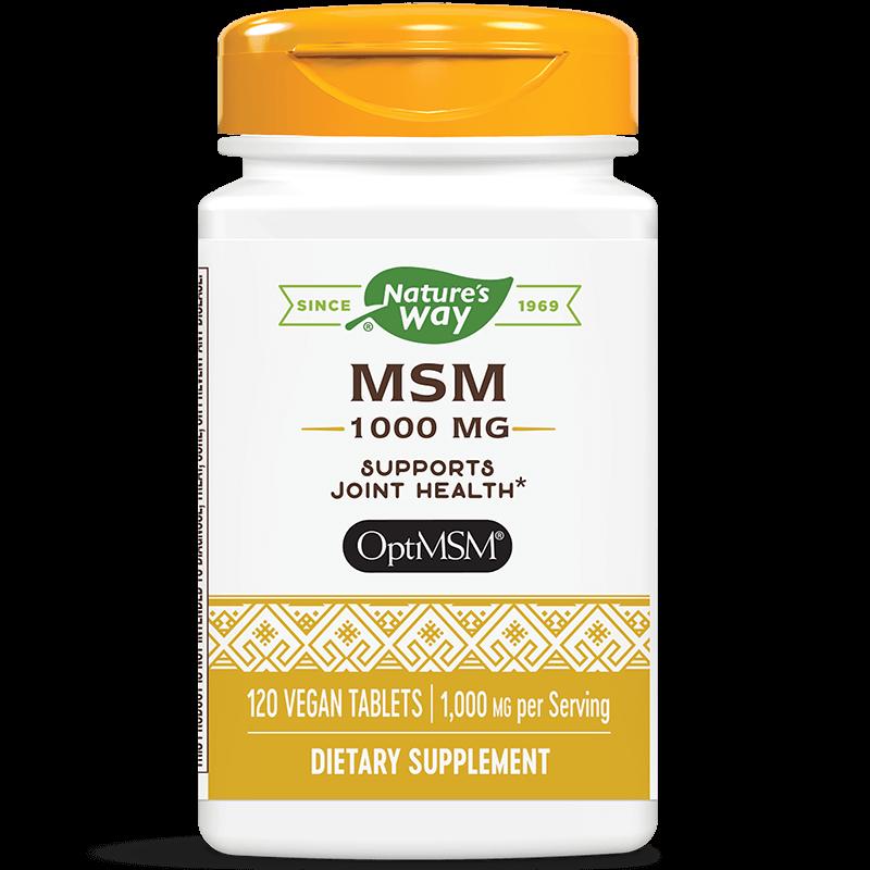 МСМ / Метилсулфонилметан 1000 mg x 120 таблетки