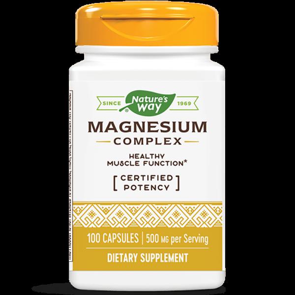 Магнезий (магнезиев комплекс) 250 mg Nature's Way - 1