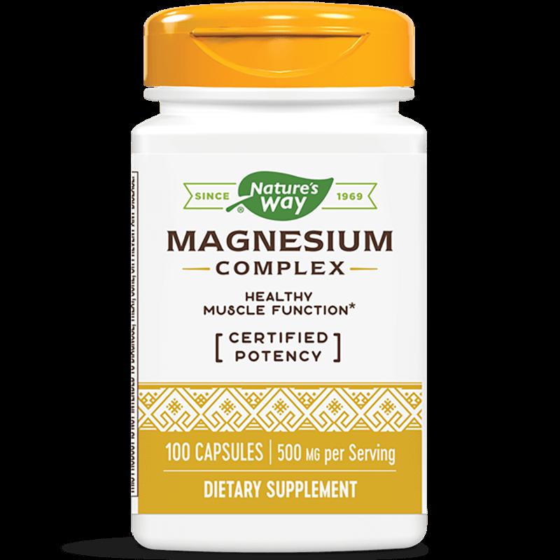 Magnesium Complex/ Магнезий (комплекс) 250 mg х 100 капсули