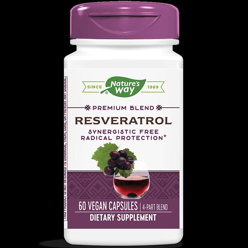 Resveratrol / Ресвератрол x 60 капсули