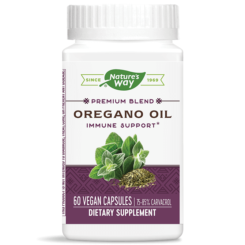 Oregano Oil 75-85% Carvacrol/ Риган масло х 60 капсули