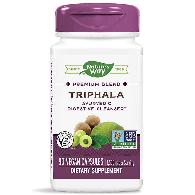 Triphala/ Трифала (Трипхала), 500 mg, 90 капсули