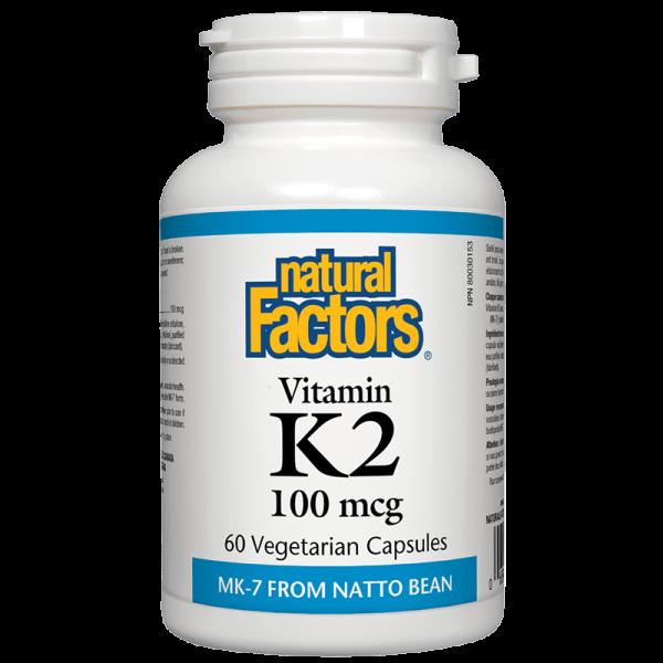 Витамин К2 (MK-7) 100 MCG Natural Factors - 1