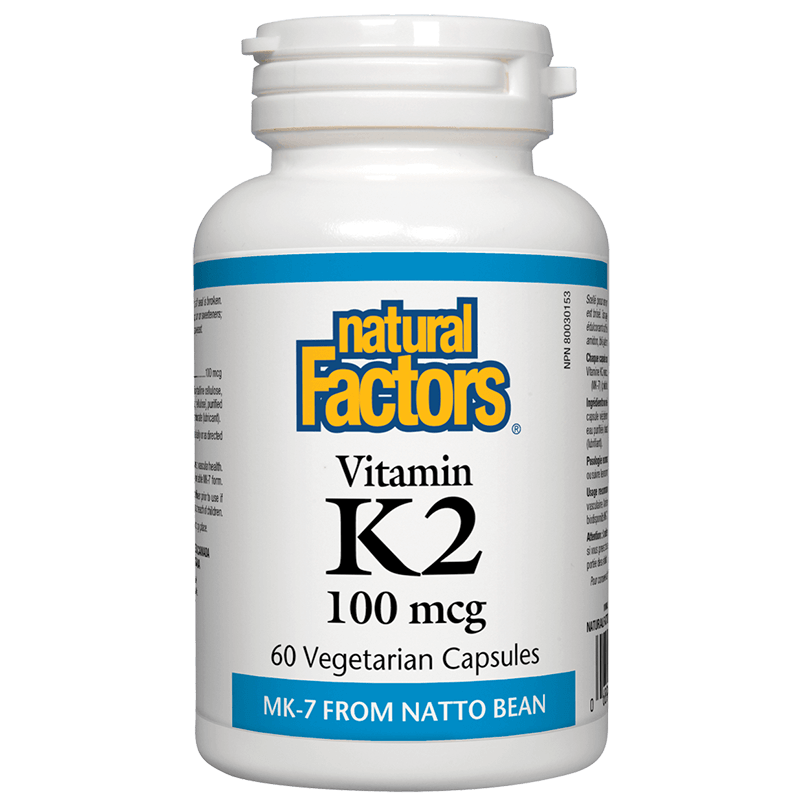 Vitamin K2/ Витамин К2 (MK-7) 100 mcg х 60 капсули