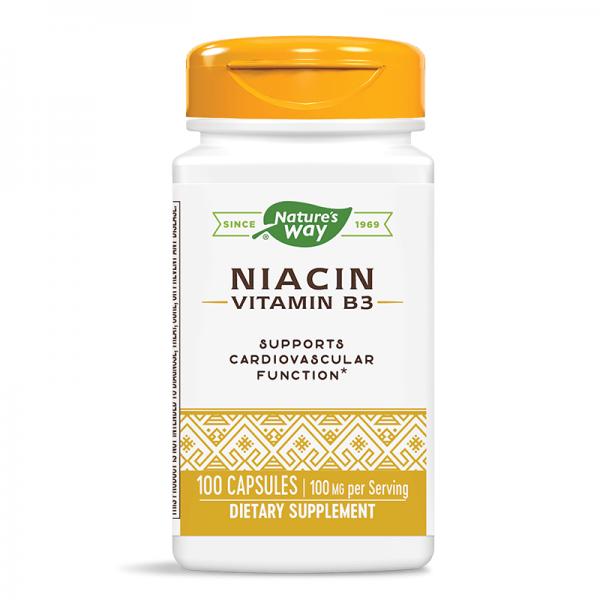 Ниацин 100 mg Nature's Way - 1