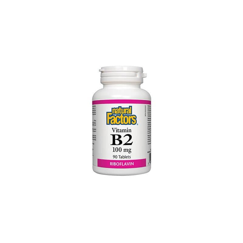 Витамин В2 100 mg Natural Factors - 1