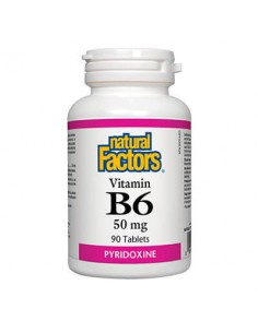 Витамин В6 50 mg Natural Factors - 1