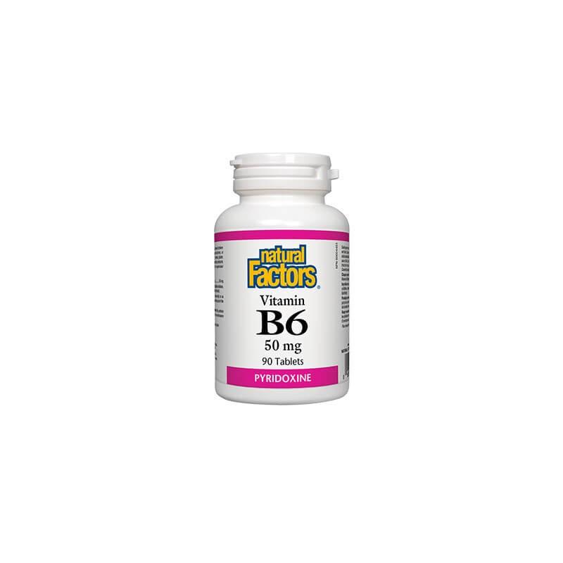 Витамин В6 50 mg Natural Factors - 1