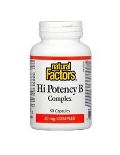 Hi Potency В КОМПЛЕКС 50 mg Natural Factors - 1