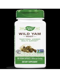 Див Ям / Сладък картоф (корен) 425 mg x 180 капс. Nature's Way - 1