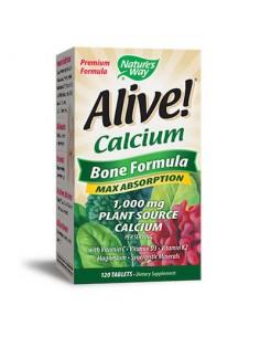 Alive / Алайв калций /растителна формула за кости/ x 120 таблетки Alive! - 1