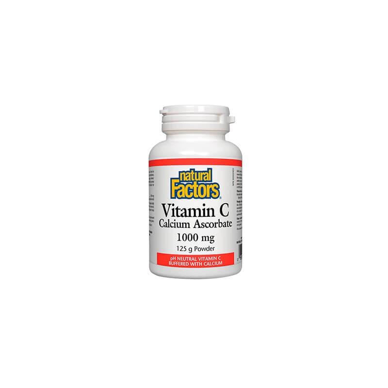 Витамин С (Калциев аскорбат) / 1000 mg Natural Factors - 1