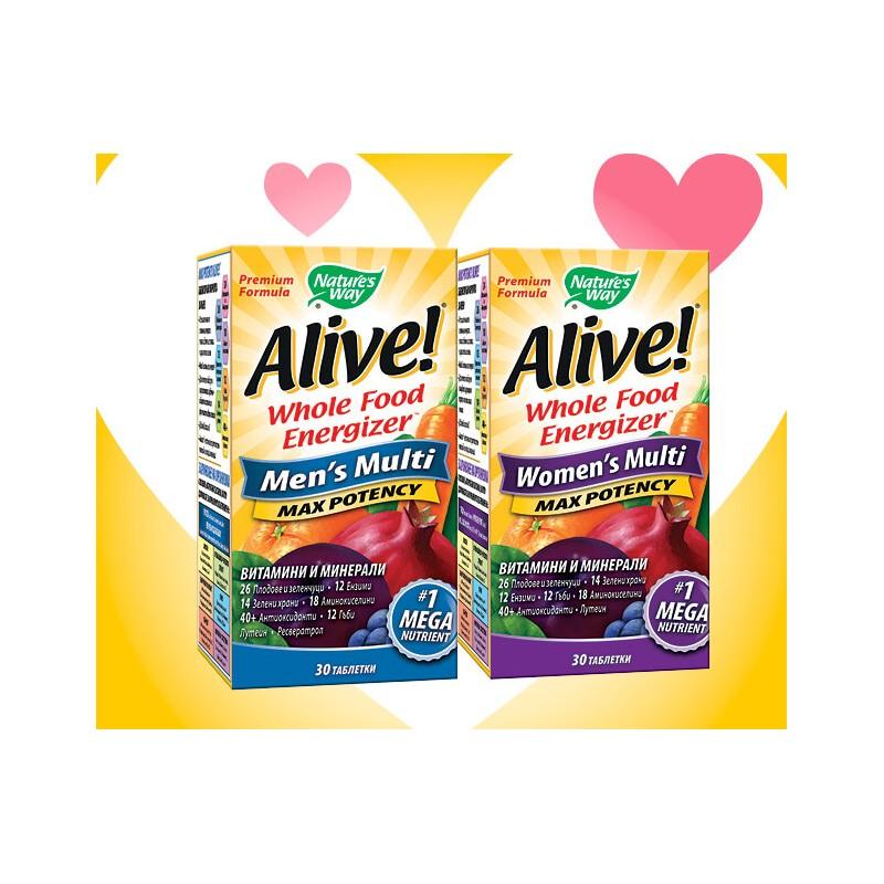 Alive! за жени + Alive! за мъже - пакет Alive! - 1