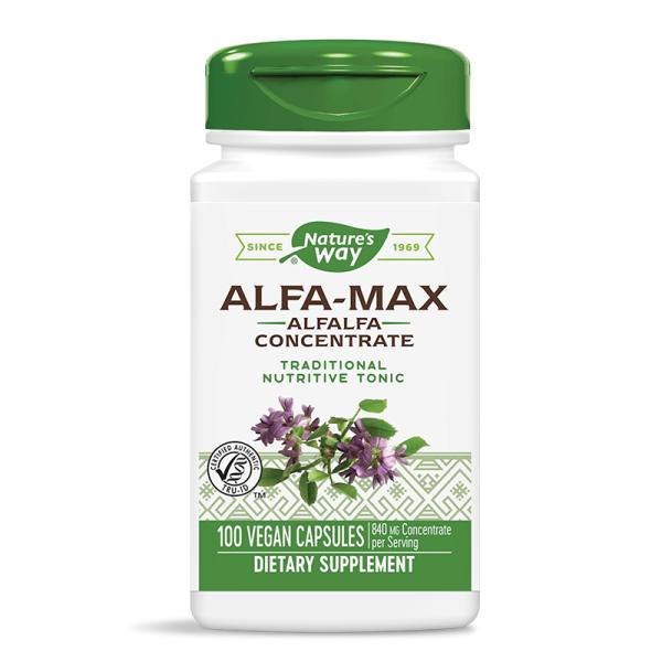 Alfa-Max® Люцерна концентрат 525 mg Nature's Way - 1
