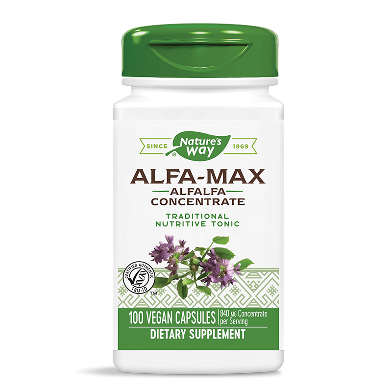 ALFA-MAX Alfalfa Concentrate/ Люцерна концентрат 525 mg х 100 капсули