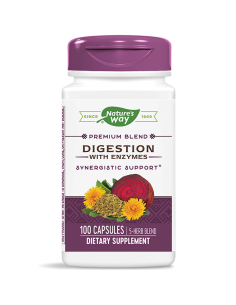 Digestion with Enzymes 450 mg Nature's Way - 1
