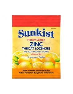 Цинк с витамин С и ехинацея Sunkist Webber - 1