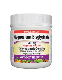 Магнезий (бисглицинат) 200 mg / Пудра Webber - 1