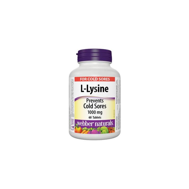 Л-лизин 1000 mg Webber - 1