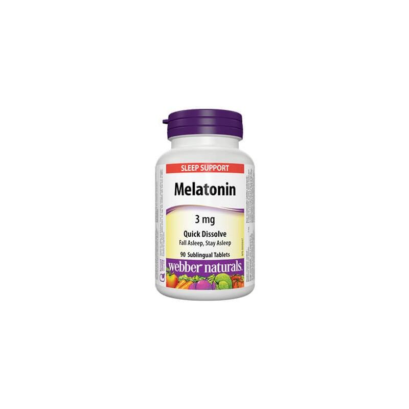 Мелатонин 3 mg Webber - 1