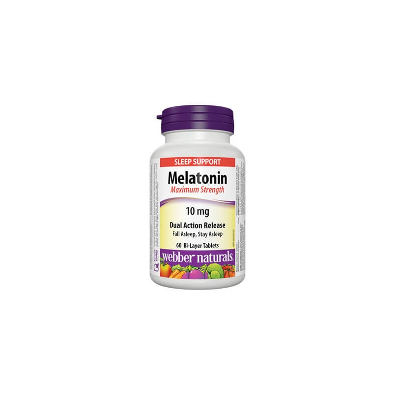 Мелатонин 10 mg ( Максимум сила) Webber - 1