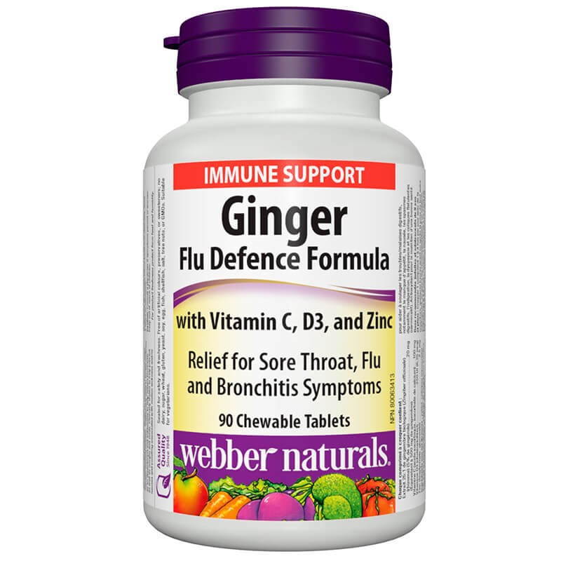 Ginger Flu Defence Formula  / Джинджифил Анти-Грип Формула Webber - 1