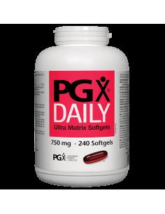 PGX® Daily Ultra Matrix 750 mg x 240 софтгел капсули Natural Factors - 1