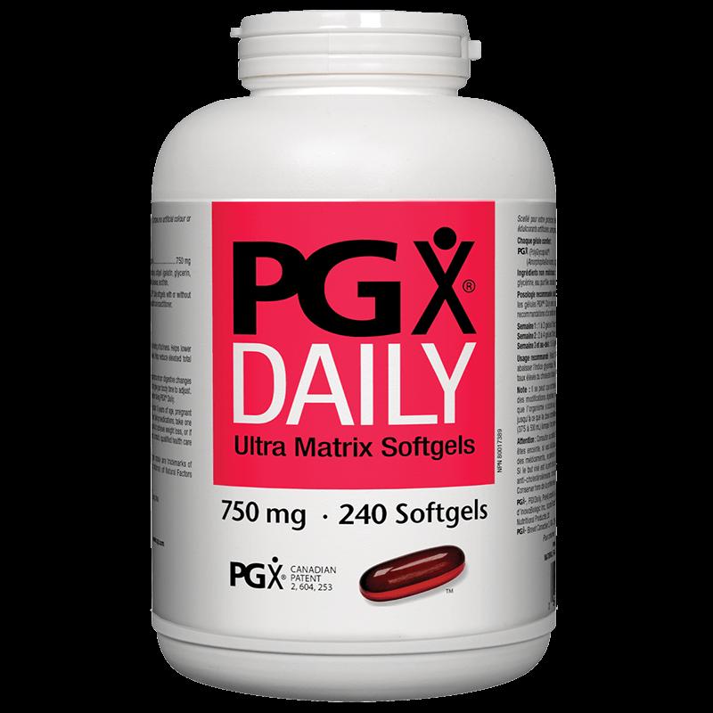 PGX® Daily Ultra Matrix 750 mg x 240 софтгел капсули
