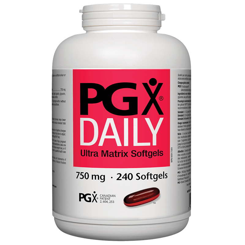 PGX® Daily Ultra Matrix / За отслабване/ 750 mg x 240 софтгел капсули