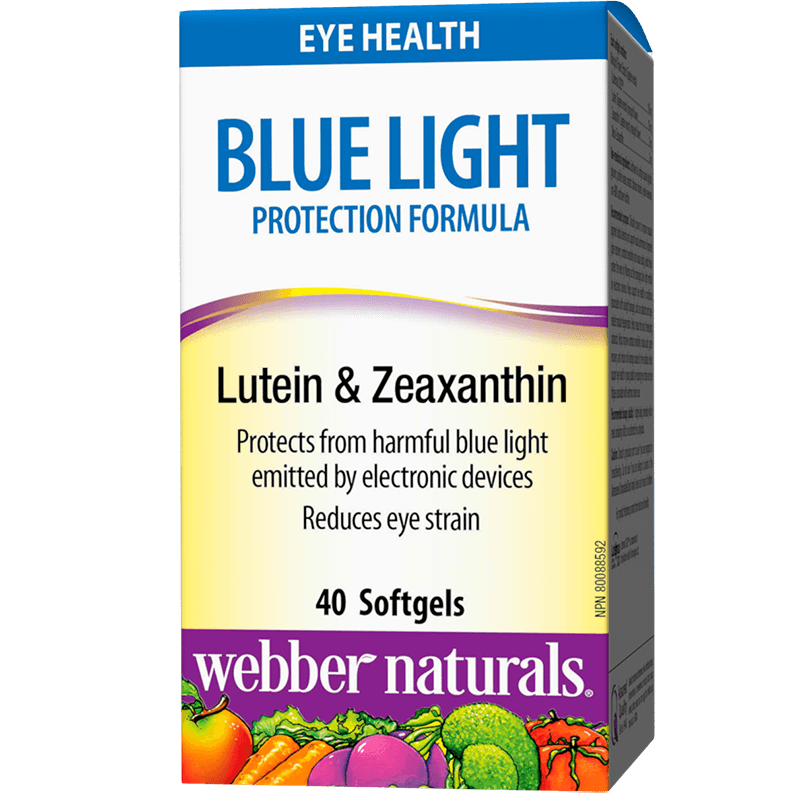 Blue Light Protection Formula/ Формула в подкрепа на зрението с Лутеин и Зеаксантин х 40 софтгел капсули