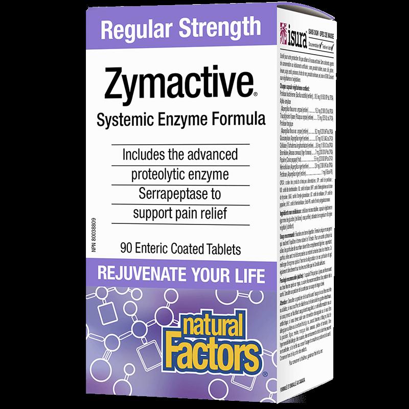 Zymactive® Systemic Enzyme Formula/ Протеолитични ензими x 90 таблетки