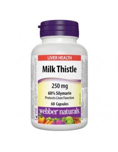 Млечен бодил 250 mg x 60 капсули Webber - 1