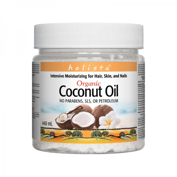 Кокосово масло Holista 440 ml Natural Factors - 1