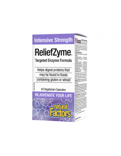 ReliefZyme™ Ензимна формула x 45 V-капсули Natural Factors - 1